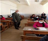 وكيل تعليم الإسكندرية: لا شكاوى من امتحانات صفوف النقل| صور