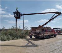 خلال أسبوع.. رفع 2655 طن قمامة وصيانة أعمدة الكهرباء بالإسماعيلية