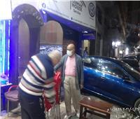 حملات مكثفة لتطبيق الإجراءات الاحترازية بأحياء الإسكندرية