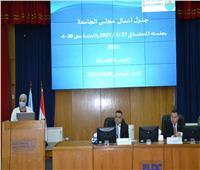 رئيس جامعة الإسكندرية: استمرار الدراسة بنظام الهجين