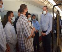 تدريب ٥٤ طالب وطالبة من جامعة سوهاج على تكنولوجيا محركات القطارات