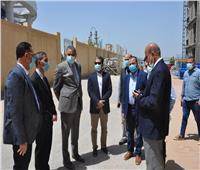 رئيس جامعة كفر الشيخ يتفقد أعمال إنشاء مستشفى الطوارئومركز الأورام