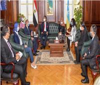 محافظ الإسكندرية يبحث مع سفير إندونيسيا سبل تعزيز التعاون المشترك