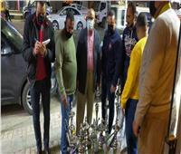 حملات مكبرة بأحياء الإسكندرية لمتابعة تطبيق الإجراءات الاحترازية