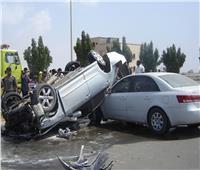 إصابة ضابط و5 خفراء في حادث تصادم بالدقهلية