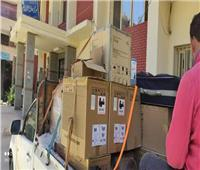 سوهاجيات يتبرعن بـ٢٠ جهاز مونيتور للمستشفى الجامعي لمواجهة كورونا