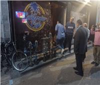 حملات على المقاهي والمطاعم لمتابعة تطبيق الاجراءات الاحترازيةباسيوط