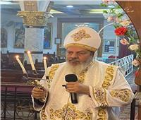 البابا تواضروس ينعي كاهن بمنيا القمح