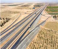 «6 حارات».. 10 صور ترصد المرحلة الأولى من طريق الصعيد الصحراوي الغربي