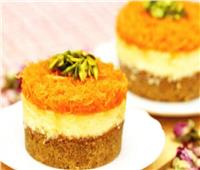 حلويات رمضان| طريقة عمل «تشيز كيك الكنافة»