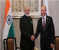 رئيس وزراء الهند يناقش مع بوتين تطور أوضاع كورونا في البلاد