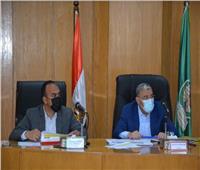 محافظ المنيا يتابع تنفيذ مشروعات المبادرة الرئاسية «حياة كريمة»