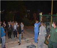 محافظ المنيا يتابع أعمال توريد وتركيب «تنكات الأكسجين» بمستشفى الصدر