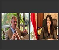 وزيرة التعاون الدولي تبحث مجالات التعاون مع مدير مكتب الوكالة الألمانية بالقاهرة