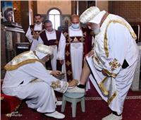 البابا تواضروس يتراس صلوات «لقان خميس العهد»