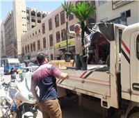 رفع ٤٦٧ حالة إشغال طريق وتحرير٤ محاضرعدم ارتداء كمامة بالبحيرة