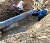 عودة مياه الشرب بعد إصلاح خطوط المياه في الإسماعيلية