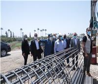 وزير النقل يتفقد أعمال تطوير الطريق الدائري حول القاهرة الكبرى