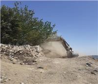 إزالة 175 حالة تعدي على أراضي حماية النيل بالمنيا