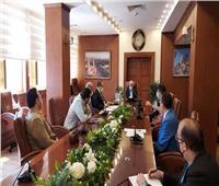 محافظ بورسعيد يتابع سير العمل بعدد من المشروعات الجارى تنفيذها