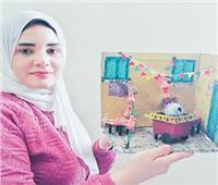 أخبار الناس  مصغرات «هبة» تحكى أجواء رمضان وشم النسيم
