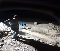 إنهاء أعمال الإصلاح لخط مياهالشرب بقطر 600ملي بأسوان