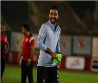 محمود وحيد يشارك في مران الأهلي