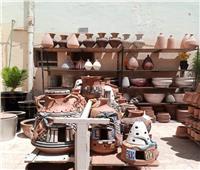 تسويق منتجات قرية الفواخير بمدينة الفسطاط