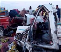 مصرع وإصابة 6 أشخاص في حادث تصادم بمفارق نفق الشهيد أحمد حمدي
