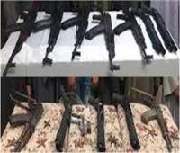 ضبط 102 تاجر بحوزتهم أسلحة نارية ومخدرات في حملة أمنية بالجيزة
