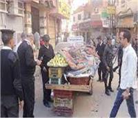 تحرير 989 مخالفة إشغال طريق بالجيزة