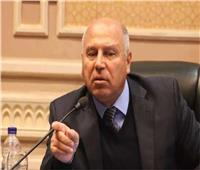 وزير النقل يتفقد مشروع تطوير طريق المنصورة - جمصة