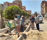 المنوفية : متابعات ميدانية لأعمال التطوير والرصف بمراكز ومدن المحافظة| صور