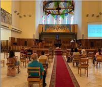 رئيس «الأسقفية» يترأس قداس الجمعة العظيمة بكاتدرائية جميع القديسين بالزمالك