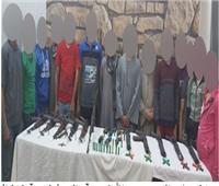 مداهمة بؤر « المحمودية والشراقوة وديروط» وضبط 15 متهمًا بأسلحة نارية