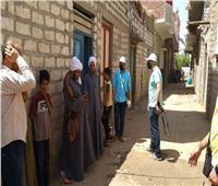 شركة المياه تنظم حملة للتوعية بـ«حياة كريمة» بقرية دلجا في المنيا