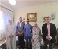 بعدما قابله الرئيس.. «حماة الوطن» يحقق حلم إسلام عويسالدليفري