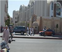 تشديدات أمنية بمحيط كنائس البحر الأحمر وتحويلات مرورية أثناء الصلوات