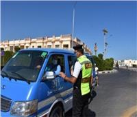 المرور يشن حملات على الطرق السريعة وضبط المواقف العشوائية