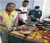 توزيع 15 الف وجبة ساخنة علي الأسر الأكثر احتياجا في قرى سيناء