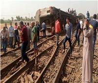 قطار يصطدم بآخر من الخلف في الإسكندرية