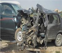 مصرع وإصابة شخصين إثر انقلاب سيارة بطريق «شبراخيت الرحمانية» في البحيرة