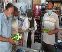 ضبط 18 قضية في حملة تموينية متنوعة على أسواق أسوان