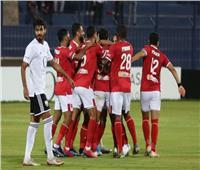 الدوري المصري| طاهر محمد يسجل للأهلي الهدف الأول في الجونة