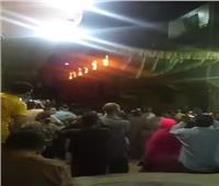 شاهد عيان.. الحريق نشب في مبنى خدمات لكنيسة مارمينا بالعمرانية ولا توجد خسائر بشرية