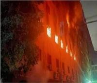 مصدر أمني: حريق كنيسة مارمينا أسفر عن إصابات بالاختناق ولا يوجد وفيات