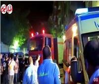 قوات الأمن تصل إلى موقع حادث حريق كنيسة ماري مينا | فيديو وصور