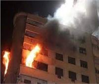 إخماد حريق نشب داخل شقة بحدائق الأهرام