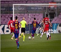 قائمة برشلونة لمباراة فالنسيا بالليجا