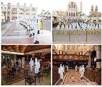 القوات المسلحة تقوم بتطهير وتعقيم عدد من دور العبادة ..صور